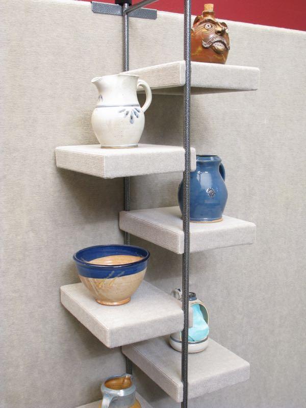 Mini Locking Ladder Shelf Propanels Versatile Display System For Artists Schools And More