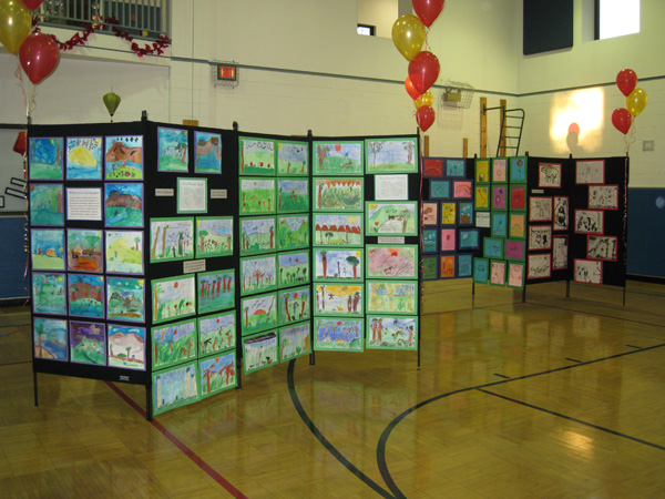 Elementary Art Exhibit