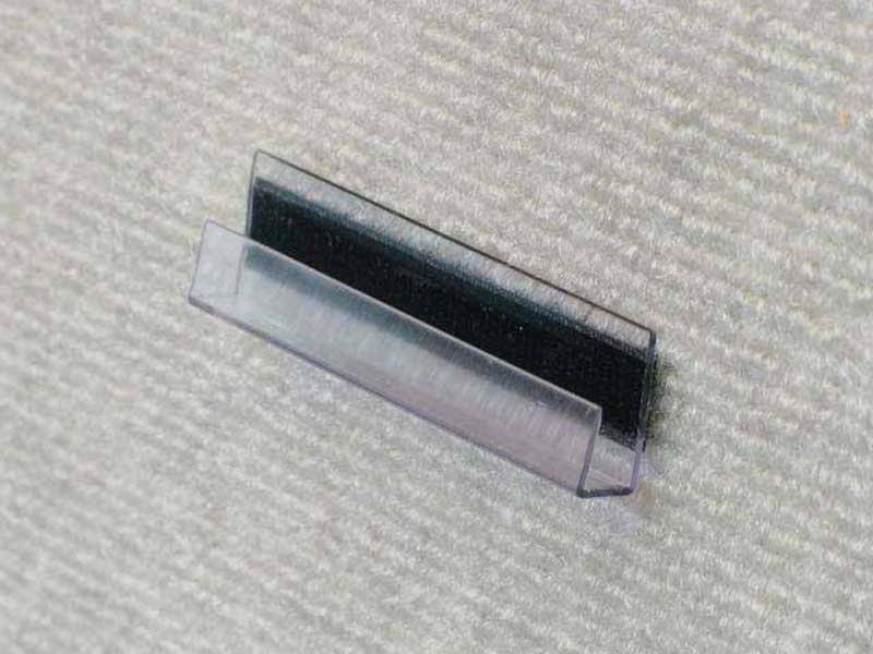 "Large Pro Clips velcro directly onto Pro Panels to hold thicker items such as foamcore. They measure 3"" long x 1/4"" thick."