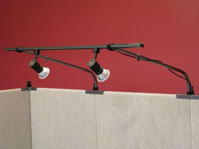 10 Booth Track Lighting Setup 6 Bulb