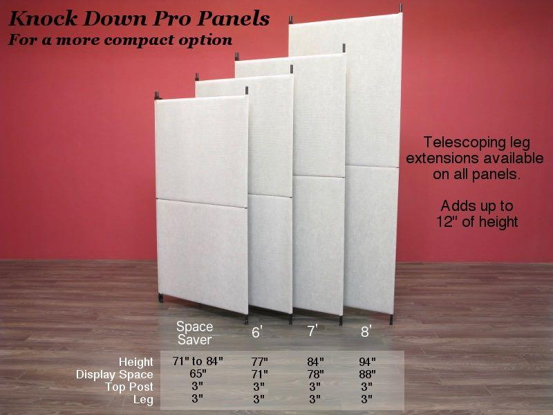 Knock Down Pro Panels in Moonbeam