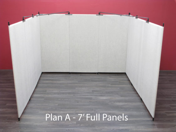 Plan A - 7' Full Panels