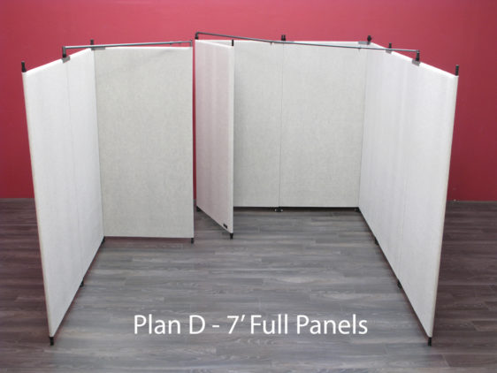 Plan D - 7' Full Panels