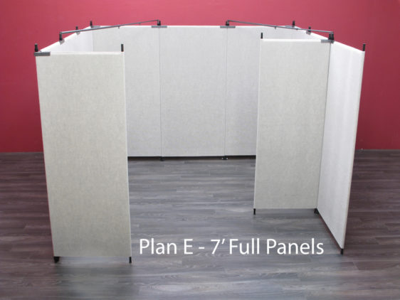 Plan E - 7' Full Panels