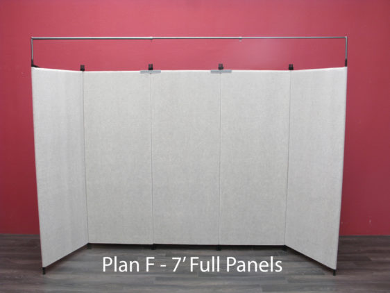 Plan F - 7' Full Panels