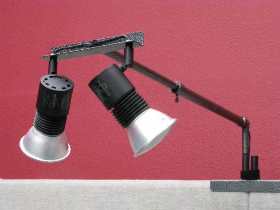 Telescoping Double Panel Light