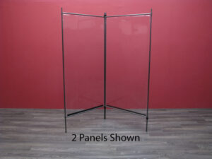 Clear Room Divider Panels