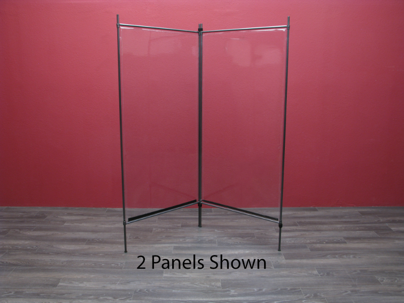 Clear Personal Protection Panel